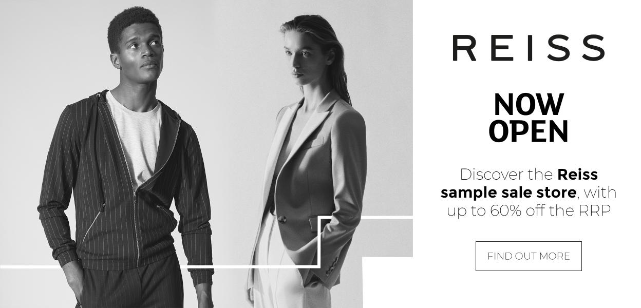 Reiss sample sale store