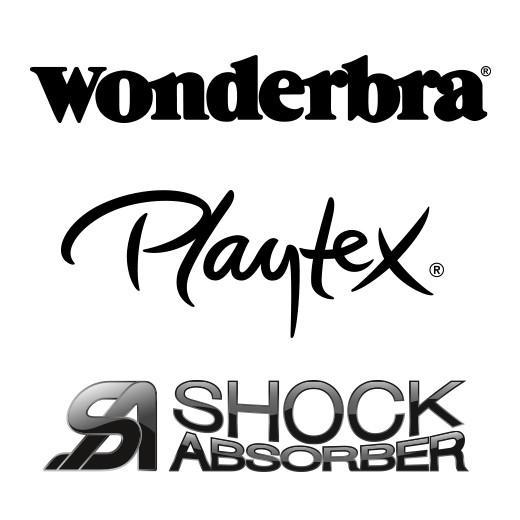 Wonderbra Playtex Shock Absorber logo