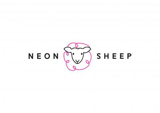 Neon Sheep  logo