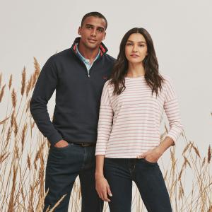 Say hello to autumn style with Crew Clothing Company at Braintree Village