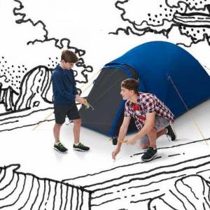 Regatta indoor camping