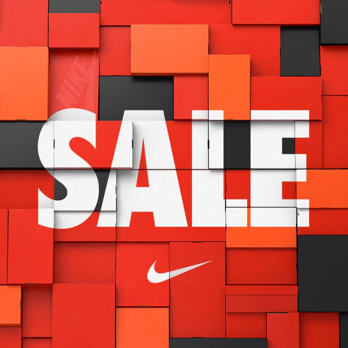Nike Sale at Braintree Village