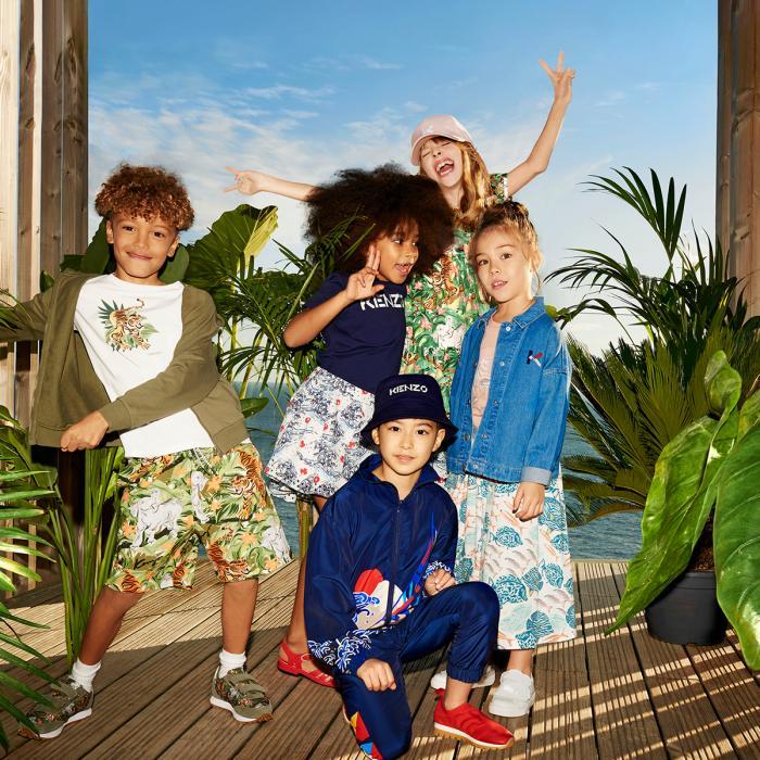 Kids around at Braintree Village