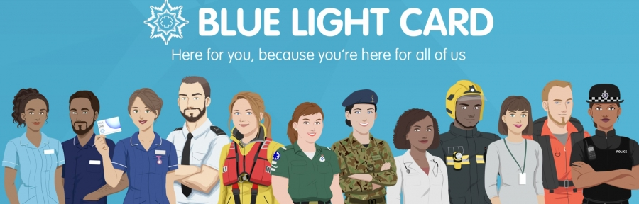 Blue Light Card at Braintree Village