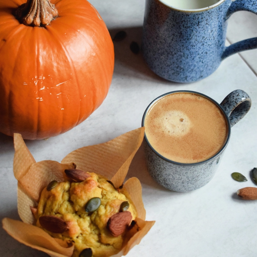 Pumpkin breakfast muffins - Denby x LetsEatSmart