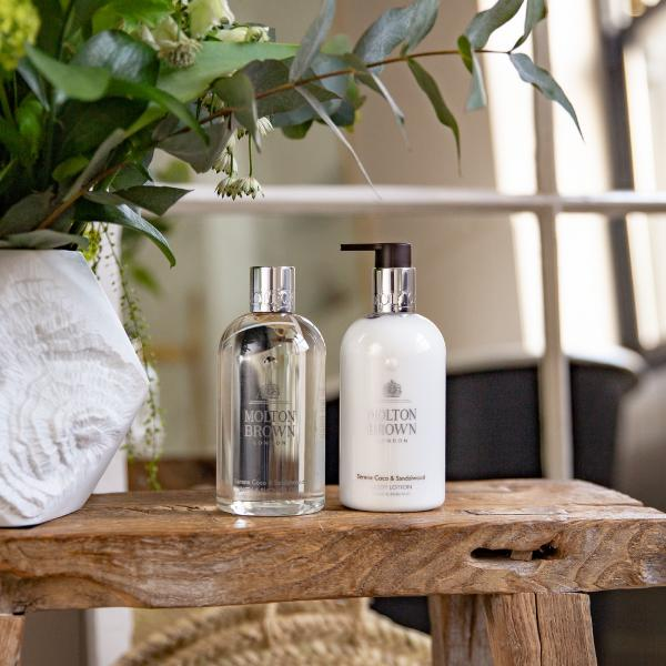Molton Brown's Coco and Sandalwood